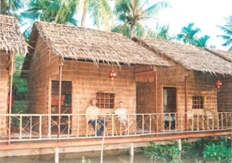 Homestay huts